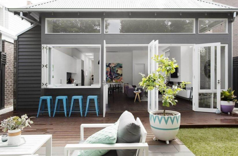 Create a seamless indoor-outdoor transition