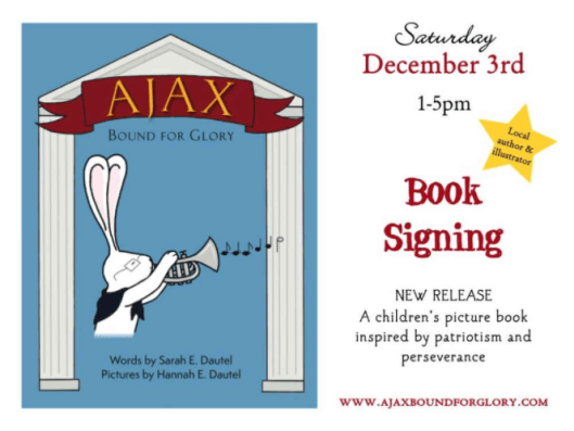 Book Signing 12/3
