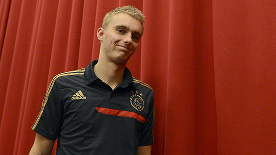 2013-11-05 Persconferentie Ajax Cillessen en Frank de Boer Arena Amsterdam