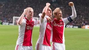 19-02-2015 Ajax-Legia Warschau.ArenA, Amsterdam, EuroLeague seizoen 2014/2015.