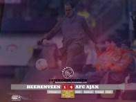 EREDIVISIE Heerenveen 1-4 Ajax de Boer