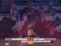 EREDIVISIE Heerenveen 1-4 Ajax Sinkgraven