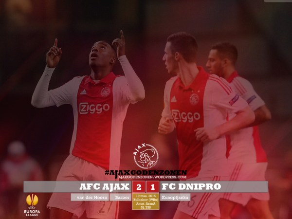 EUROPA LEAGUE Ajax 2-1 Dnipro Bazoer