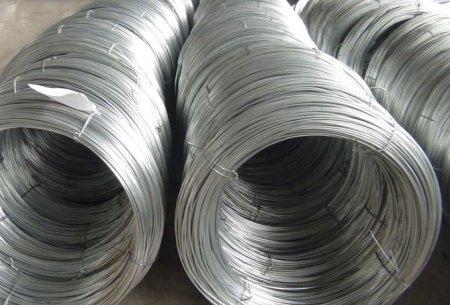 Galvanized hard drawn wire
