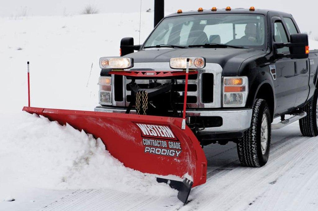 snowplow trip springs in action