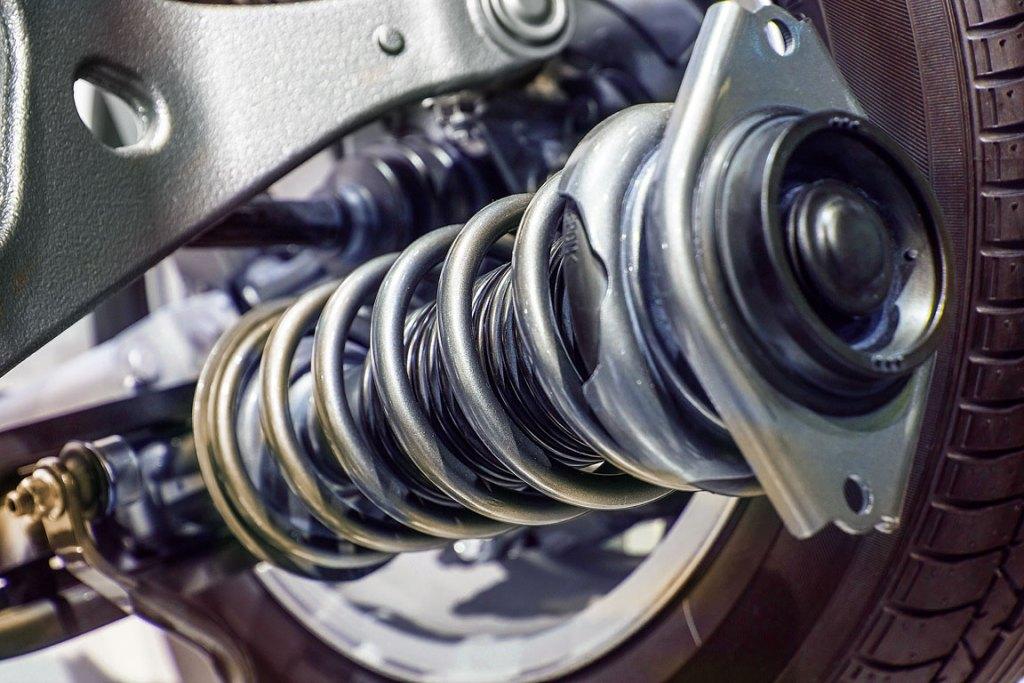 shock absorber compression spring