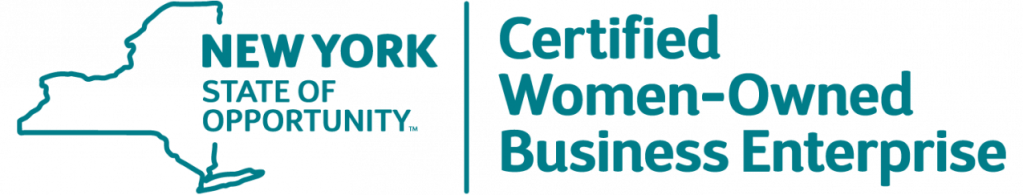 New York State Certified Woman-Owned Business Enterprise Logo