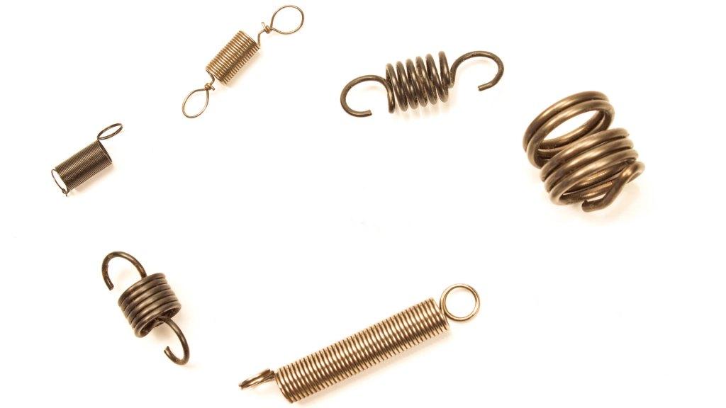 Custom extension springs