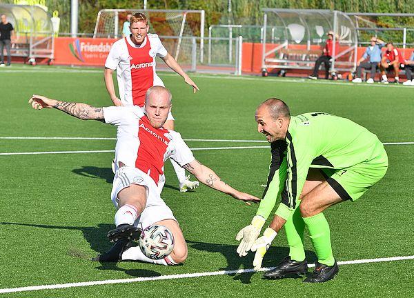 Ajax door in beker na 2-1 overwinning