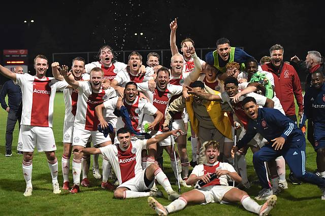 Ajax bereikt hoofdtoernooi KNVB beker