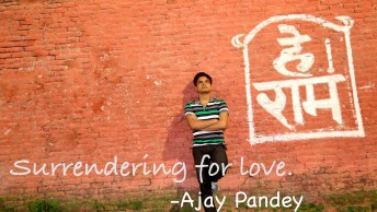 surrendering for love- Ajay Pandey Nepal