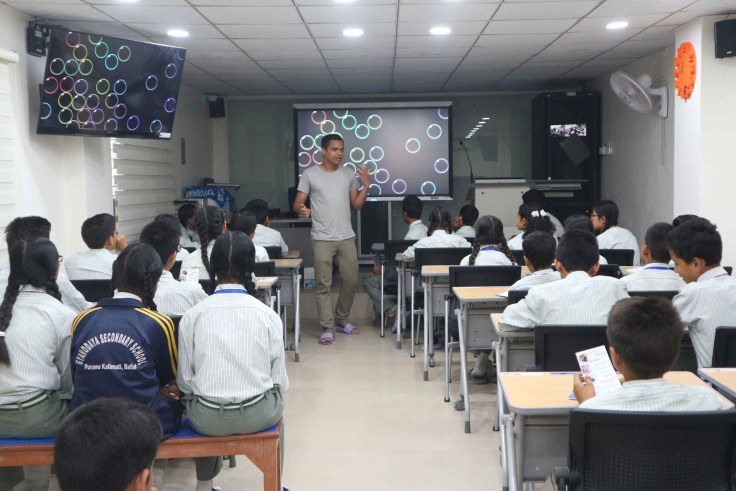 n amazing experience at Gyanodaya Public School   Ajay Pandey