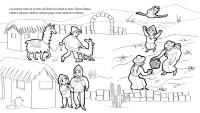 Figuras para colorear de los pueblos originarios - Imagui