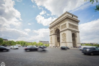 Watching traffic around the Arc de Triomphe, is like watching a Tourbillon in a well tuned watch.