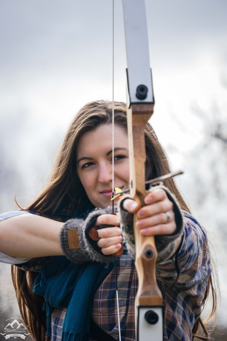 """""""Thwack!""""The sound cracks the cold winter air in the Pacific Northwest. One arrow after another, meeting its target at the other end. Just another PNW Sunday morning."""