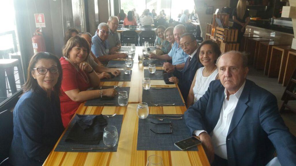 Almuerzo de la Filial de Panama 2017