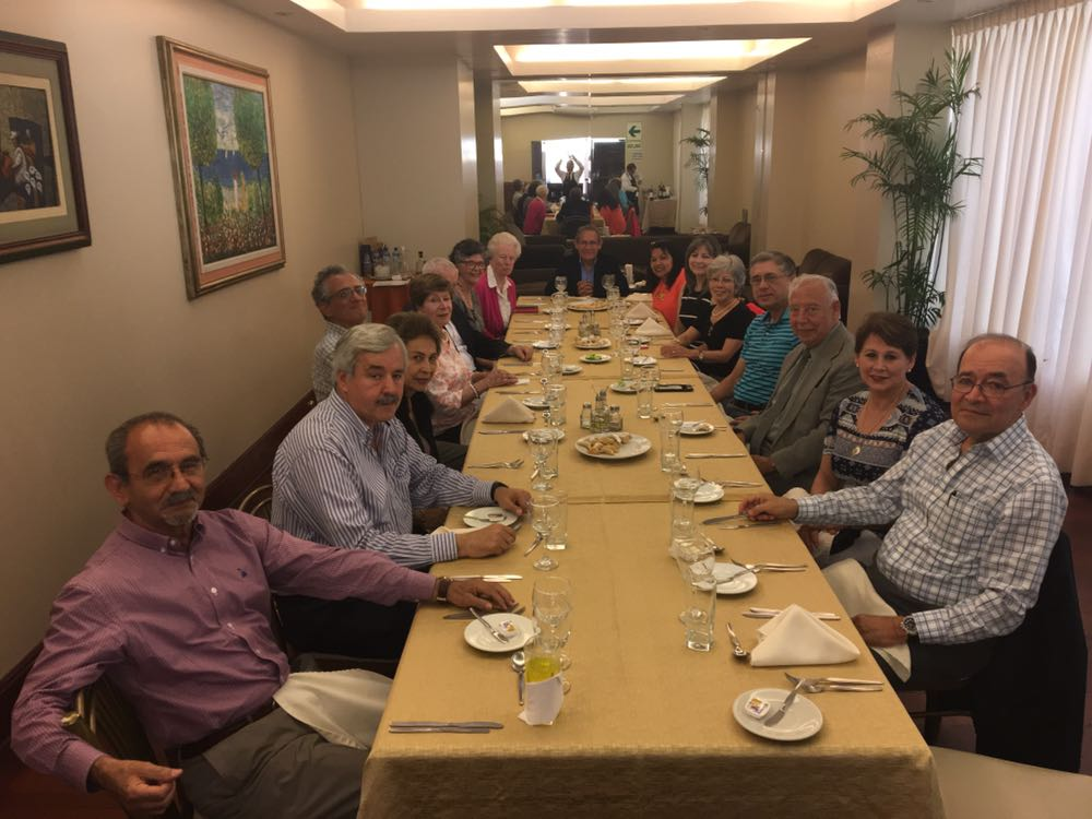 End of the Year Lunch of the Peru Chapter 2017