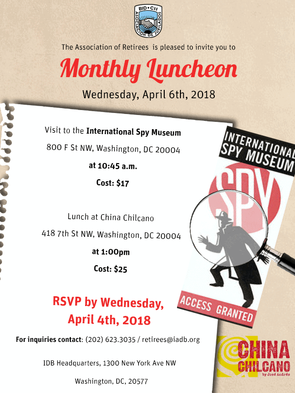 April Luncheon 2018