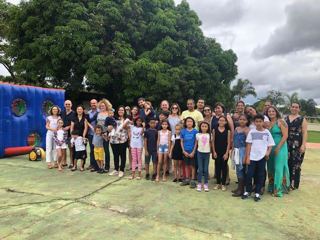 Christmas party organized by the Association of Families and the AJU Brasil Chapter 2018
