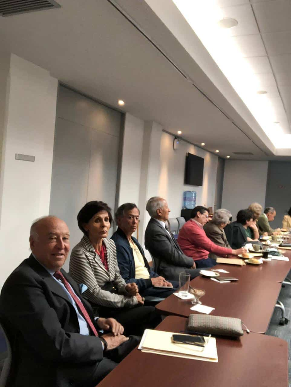 Meeting of retirees from Bolivia on Aetna and MDA