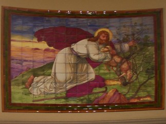 Gethsemane - a tapestry in the Hospital chapel