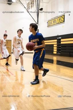 JV Boys Basketball Vinton-Shellsburg vs Benton Community-1012