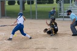 Softball Varsity Vinton-Shellsburg vs Clear Creek Amana 2014-4942