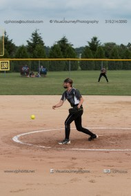 Softball Varsity Vinton-Shellsburg vs Clear Creek Amana 2014-5070