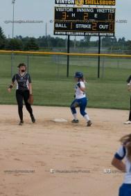 Softball Varsity Vinton-Shellsburg vs Clear Creek Amana 2014-5073