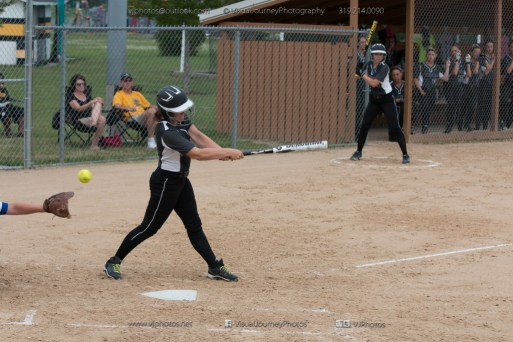 Softball Varsity Vinton-Shellsburg vs Clear Creek Amana 2014-5130