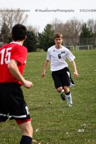 Boys Soccer - CPU vs Western Dubuque-4013