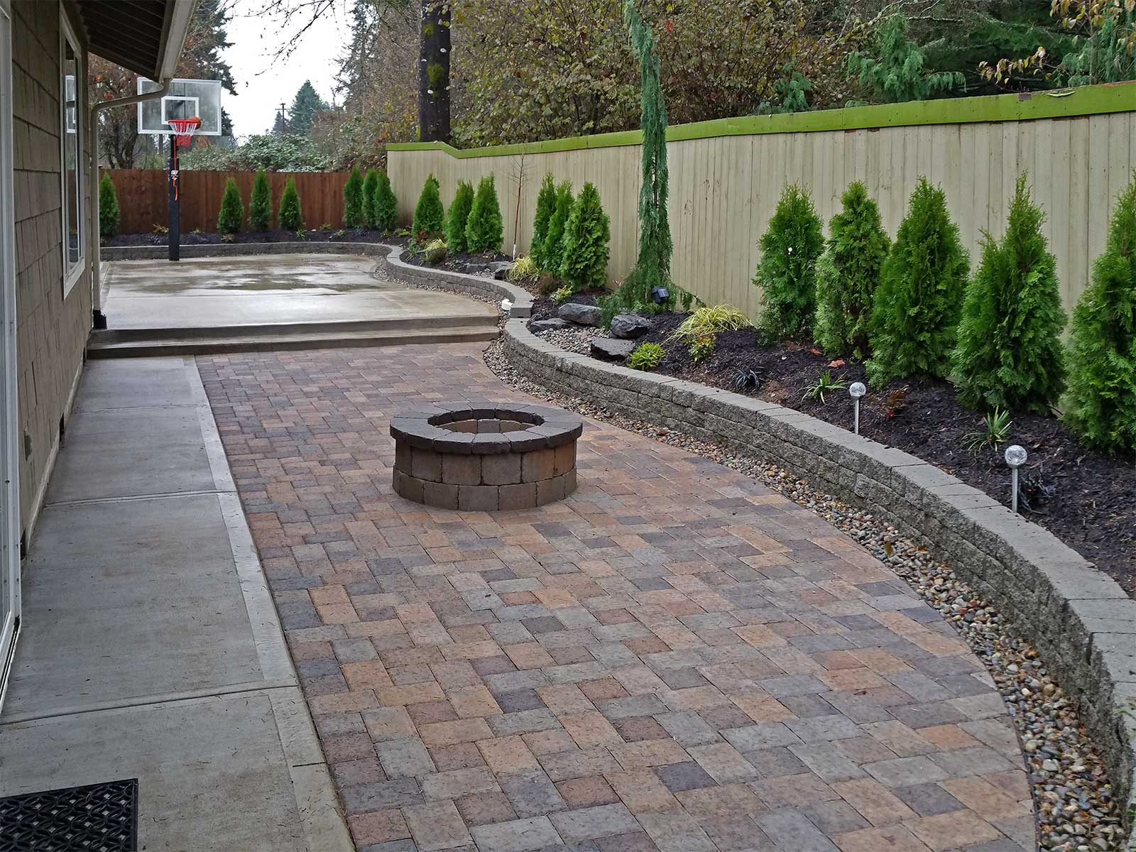 paver patios and walkways installation