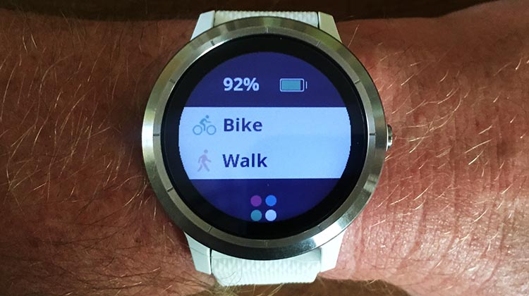 How to Use Your Garmin Vivoactive 3 to Record an Activity
