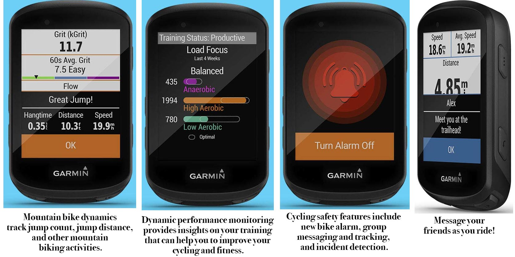 7 of the Best Fitness Trackers - Fitbit and Garmin. This graphic shows some of the many improvements to the Garmin Edge 530
