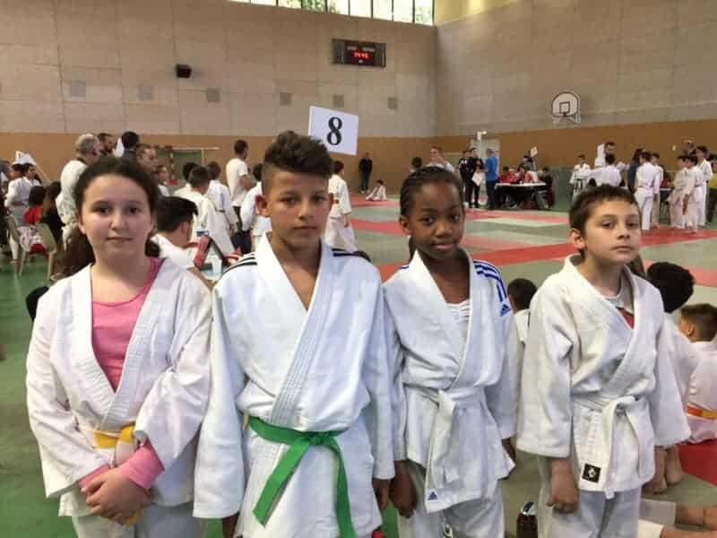 18 éme Tournoi Henry Courtine ajcm judo