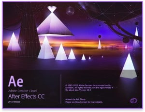 Adobe After Effects CC 2015 Release Splash Screen
