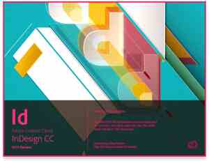 Adobe InDesign CC 2015 Release Splash Screen