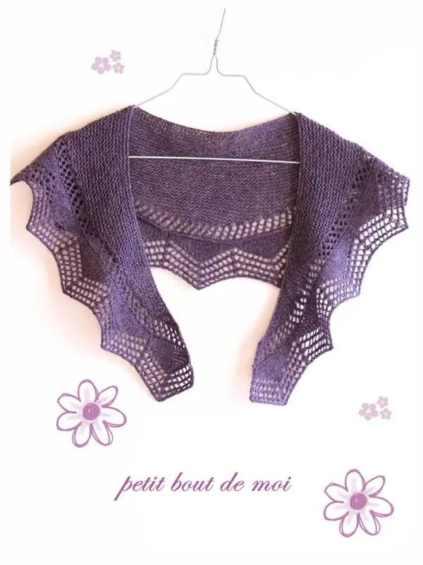 cassis-shawlette