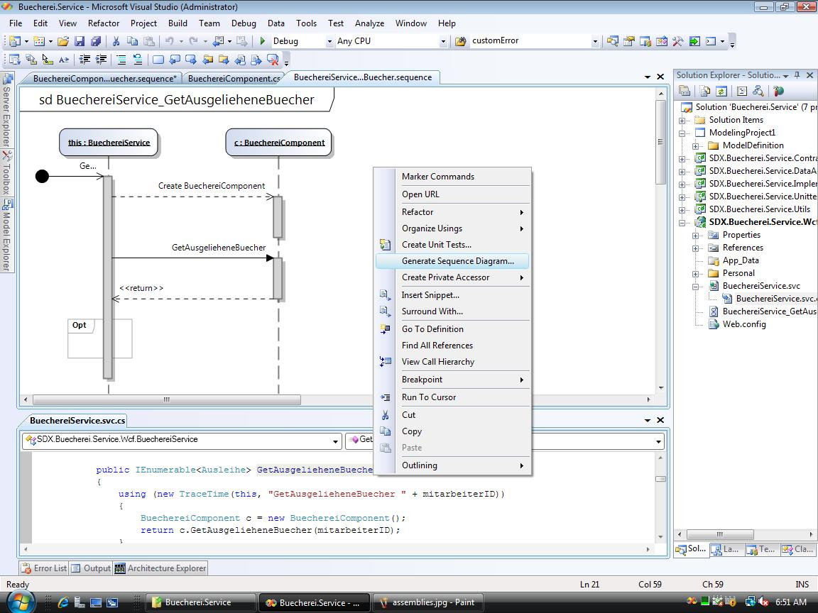 visual studio generate sequence diagram 2003 honda civic si stereo wiring 2010 architecture edition aj 39s blog