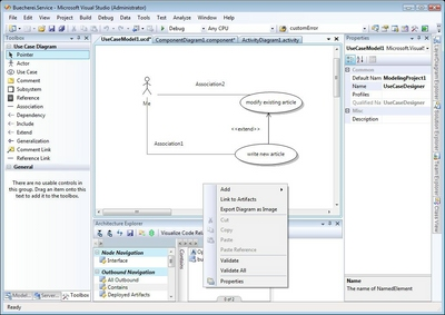 Visual Studio 2010 Architecture Edition (5/6)