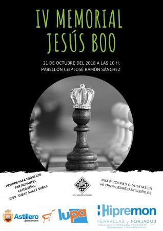 Cartel IV Memorial Jesús Boo