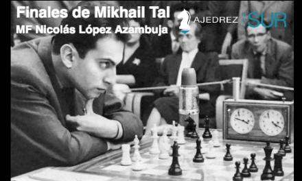 Finales de Mikhail Tal – Torre contra piezas menores