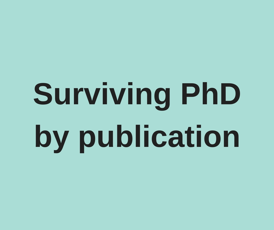 Phd by publication