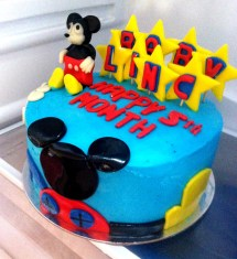 Mickey Mouse Clubhouse Cake Baby Linc 5th Month Aj
