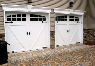 Steel Carriage Garage Doors