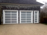 Custom aluminum full view glass | AJ Garage Door - Long ...
