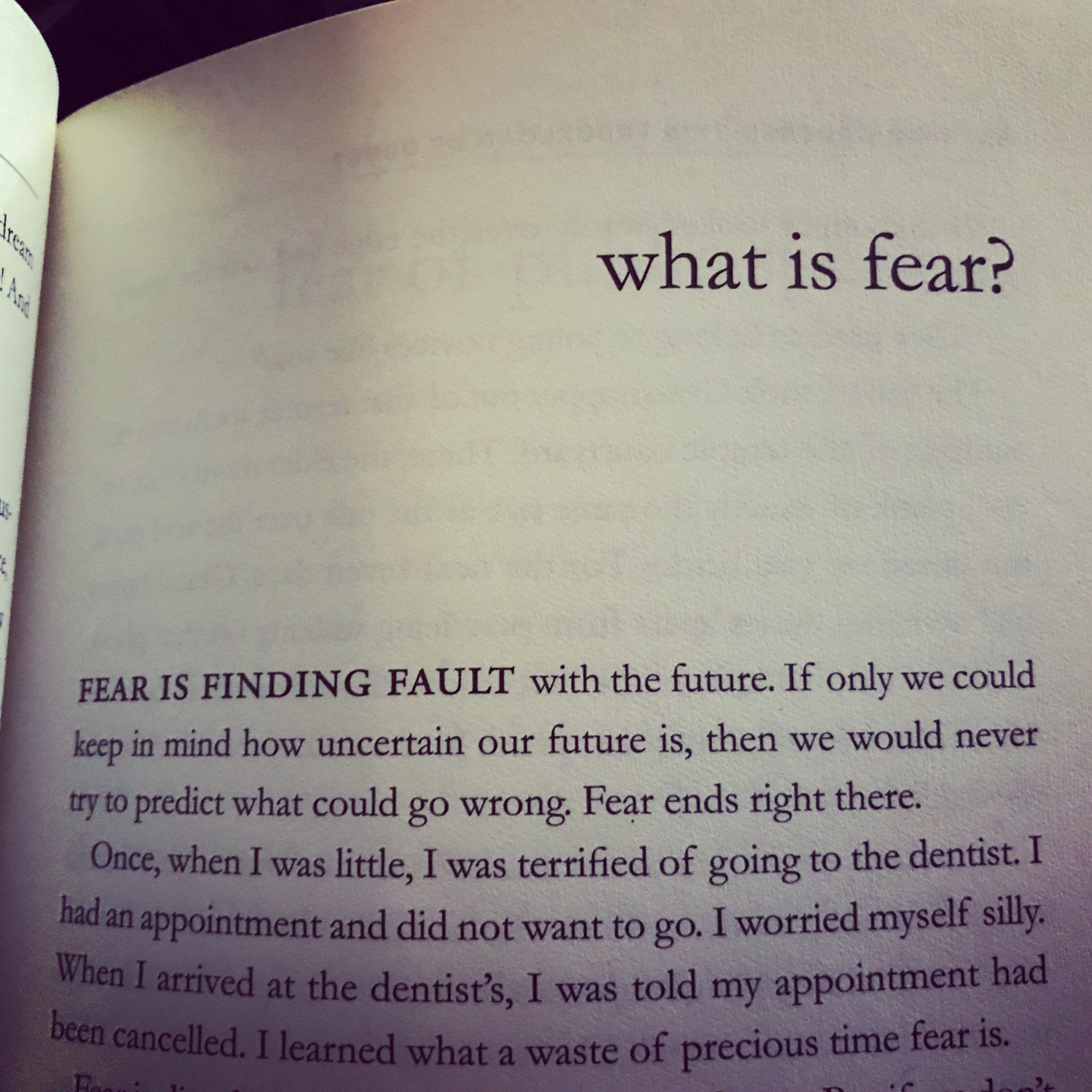 Put Fear On Notice