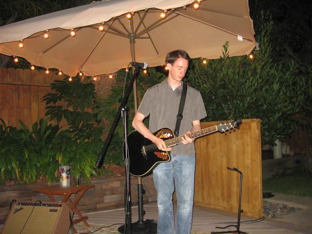"""Kinglet Café"" show, Costa Mesa, August 2011"