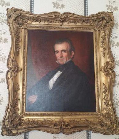 James K. Polk presidential portrait