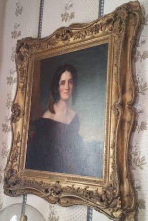 Sarah Polk, Presidential portrait